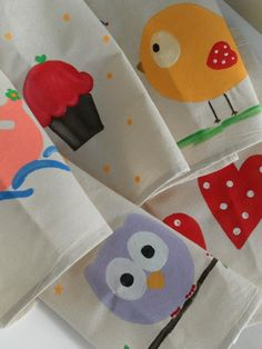 handmade aprons for kids by Sugarbaby Art