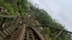 Thunderhead front seat on-ride HD POV @60fps Dollywood