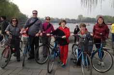 Guided Cycling Tour of Beijing  Make the most out of your stay in Beijing by cycling through the streets and seeing the sites up close. The route roughly goes through Tian'anmen Square, Nanchizi Avenue,  Donghua Gate, the Forbidden City, Di'anmen Avenu, the Drum Tower, the  Bell Tower, food markets inside hutongs and a ride along the city axis. Feeling like a local, you will be escorted by a knowledgeable, English-speaking tour guide throughout the tour.   ...