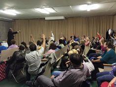 Apostle Bailey ministering in a Russian congregation in Rostov Russia 9.3.15