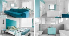 Palette Profile – An Interior Of Blues, White & Grey