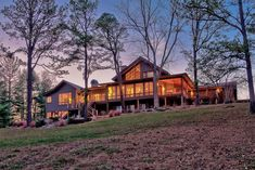 A cozy farm house surrounded by woods in North Carolina