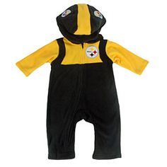 1a8fe886e Get this Pittsburgh Steelers Toddler Fleece Mascot Outfit at  ThePittsburghFan.com