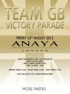 Our party in honour of #TeamGB