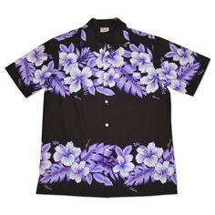 kahuna hawaiian cotton blend shirt