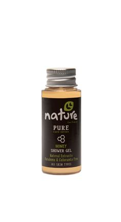 NATURE+hotel+amenities+/+PURE+care+series+35ml    The+natural+shower+gel+with+honey+extract+of+NATURE+pure+care+series,+in+35ml+packaging,+can+be+used+by+hotels+in+the+«amenities»+category.+It+is+ideal+for+daily+use,+gently+cleanses+and+it+keeps+the+skin+moisturized+all+day.+It+is+suitable+for+all+skin+types,+contains+natural+extracts+and+it+is+parabens+&+colorants+free.