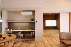 写真07|S様邸/プレズィール/OM/平屋(H28.4.13更新) Muji Home, Japanese Interior Design, Study Nook, Living Spaces, Living Room, Space Architecture, Home And Deco, Cozy Living, Home Office