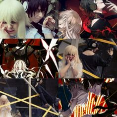 Outer Science, Mary and Kuroha from Kagerou Project