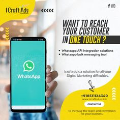 Hey folks! Are you successfully reaching out to your target audience? ⁉️ . How about reaching to your customer with just one touch? 🧐 . Seems tough? Need Help? 🤪 . Then what are you waiting for? . Contact us now. 😉💯 . . #whatsappgroup #whatsapp #whatsapps #whatsappmarketing Whatsapp Marketing, Target Audience, Digital Marketing, Waiting, Ads, Messages, Touch, Business, Instagram