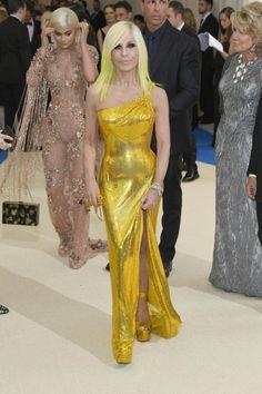 fashionfatale: Donatella Versace Met Gala 2017