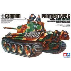 Model Tamiya 35176 German tank Panther type G Late Version