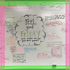 #feelgoodfriday #miss5thswhiteboard