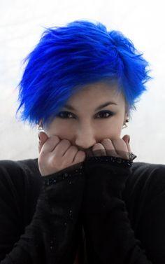 black, bleue, blue, blue hair, bluehead