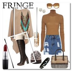 """""""the hang out chic{k}"""" by g-vah-styles on Polyvore featuring Kate Spade, Gucci, Tomas Maier, Auriya, Enza Costa, Chanel, MAC Cosmetics, Christian Dior, Furla and women's clothing"""