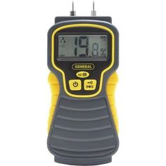 General Tools Digital Moisture Meter MMD4E Unit: Each