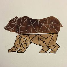 Maku did this original piece as inspiration for this month's sock design. Subscribe today to lock in your pair of our September Edition, the Cub, supporting Free the Bears