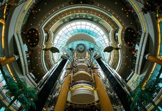 The Promenade Royal Caribbean Legend of the Seas, via Flickr.