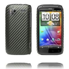 Carbonite (Sort) HTC Sensation Deksel