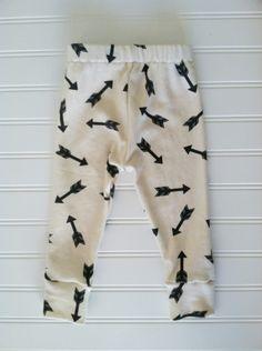 organic cotton arrow leggings