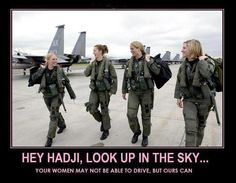 Yeah. This is what happens with Army (or Air Force/Marine/Navy) Barbies!!