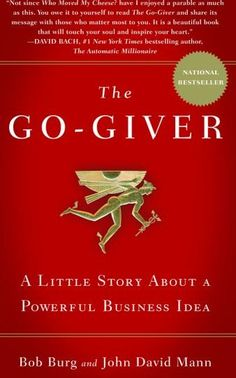 List of the Best Marketing Books Ever - The go giver by Bob Burg