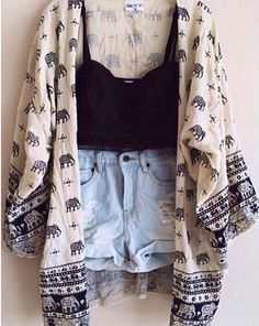 Cute, but change the bottoms to lace cornered shorts and wear over calf high lace bottomed leggings with flips