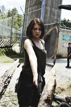 I'm Maggie Greene have a sister Beth and my father Hershel but he was killed now it's just me and my sister