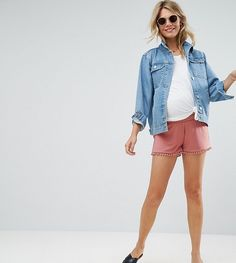CUTEST.SHORTS.EVER.  Perfect for summer holidays and that baby moon. You need comfort and cuteness . These shorts can do justice to your cutest accessory - the bump!   Post contains affiliate links.
