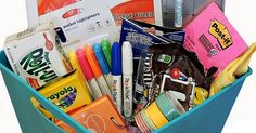 College Gift Baskets Filled with Encouragement & Care- #College #CarePackages Blog