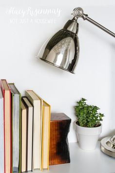DIY Charred Wood Bookends