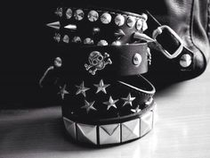 spikes and studs