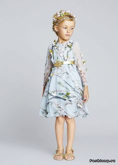 dolce and gabbana ss 2014 child collection 48 zoom Little Girl Fashion, Little Girl Dresses, Fashion Kids, Girls Dresses, Fashion Spring, Outfits Niños, Kids Outfits, Dolce And Gabbana Kids, Little Fashionista