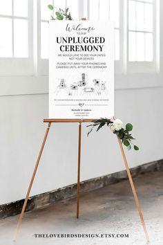 Wedding Menu, Wedding Signs, Wedding Reception, Wedding Day, Reception Ideas, Softball Wedding, Basketball Wedding, Free Wedding Templates, Unplugged Wedding Sign