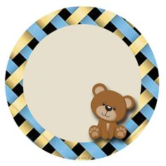 Cupcake Toppers Free, Cupcake Wrappers, Baby Shower Oso, Baby Shower Favors, Lace Background, Bear Party, Magic Box, Printable Labels, Blogger Templates