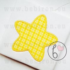 Star Applique Design Machine Embroidery Pattern Instant Download