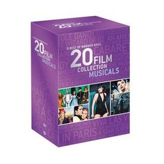 One of my favorite discoveries at WBShop.com: Best of Warner Bros. 20 Film Collection Musicals DVD