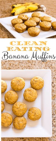 Clean Eating Banana Muffins {a Kid-friendly recipe!} ⋆ Homemade for Elle – Erica Mytinger Clean Eating Banana Muffins {a Kid-friendly recipe!} ⋆ Homemade for Elle Clean Eating Banana Muffins {a Kid-friendly recipe!} ⋆ Homemade for Elle Clean Eating Snacks, Clean Eating Muffins, Clean Eating Breakfast, Healthy Eating, Eating Habits, Banana Recipes Clean Eating, Clean Eating Kids, Clean Eating Cupcakes, Healthy Kids
