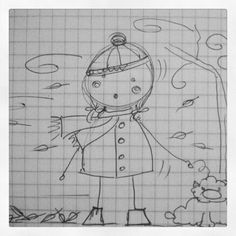 Illustration - Ma se piove e tira vento.sempre a lei spetta sto tormento Snoopy, Fictional Characters, Art, Art Background, Kunst, Fantasy Characters, Art Education