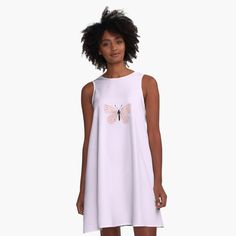 Pink Butterfly, Butterflies, Young At Heart, Pastel Pink, I Dress, My Outfit, Designer Dresses, Chiffon Tops, Classic T Shirts