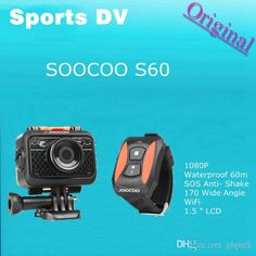 Buy Cheap Sports & Action Video Cameras For Big Save, Original Soocoo S60 1080p Sports Action Video Camera Waterproof 60m Sos Anti Shake 170 Degree Wide Angle Wifi 1.5 Lcd Camera Online At A Discount Price From Ghptek︱dhgate.Com