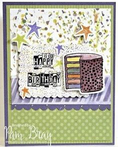@CSMscrapbooker posted to Instagram: Pam Bray is on the Creative Scrapbooker Magazine blog today designing this Happy Birthday card! I could totally have a bite of that cake!!!!   Pop on over to our profile and click on  smart.bio/csmscrapbooker for a direct link to the complete step by steps.  #ranger #pambray #birthdaycard #birthday #happybirthday #instabirthday #celebration #cardmaking #cards #diycards #handmade cards #csmscrapbooker #creativescrapbookermagzine #creativescrapbooker… Diy Cards, Handmade Cards, Cake Pop, Happy Birthday Cards, Ranger, Cardmaking, Celebration, Profile, Stamp