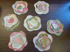 French Quilt Rose Buds