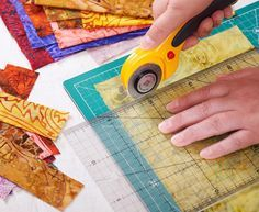 The most basic step in Quilting 101 is learning how to use a rotary cutter and mat. Once you've mastered this skill, you're on the road to being a quilter. Learn How to Get Perfectly Straight Fabric Cuts Every Time!
