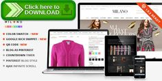 [ThemeForest]Free nulled download Milano - Responsive Magento Theme + Blog Extension from http://zippyfile.download/f.php?id=21418 Tags: ajax, apparel, clean design, clothes, creative, customizable, design, easy install, fashion, layout, lightbox, modern, unlimited colors