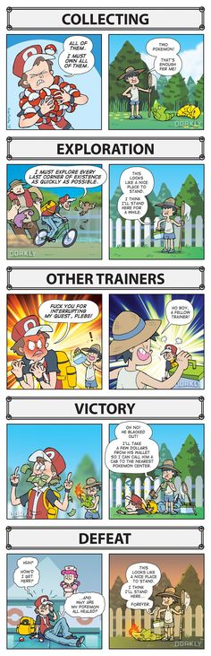How YOU Play Pokémon vs. How NPCs Play Pokémon | Video Games / Nintendo / Pokemon | Dorkly list / Good Guy Pokémon NPC