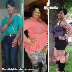 Weight Loss Story of the Day: Marquita lost 110 pounds