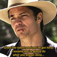 Timothy Olyphant / Raylan Givens l Justified