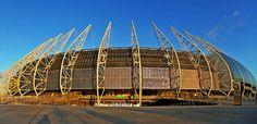 Sad...Brazil World Cup Stadium Fortaleza vandalized