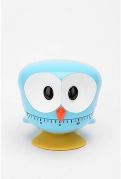 Love this idea for school! UO's owl kitchen timer $19.99