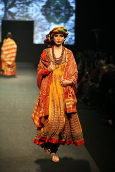 Ritu Kumar's 'Panchvastra' Collection - Asian Wedding Ideas Pakistani Bridal Wear, Pakistani Dresses, Indian Dresses, Indian Outfits, Western Outfits, Biba Fashion, Ethnic Fashion, Indian Fashion, African Fashion